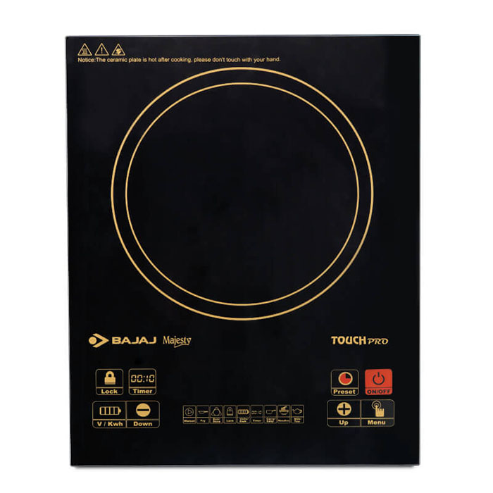 Bajaj Induction Cooker Icx Touch Pro