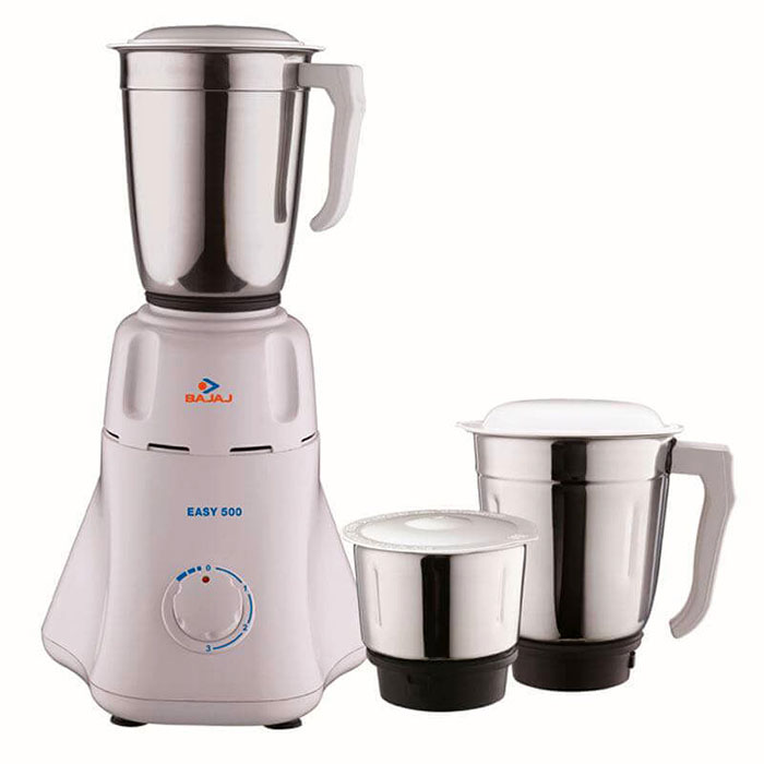 Bajaj Mixer Grinder Easy-500W