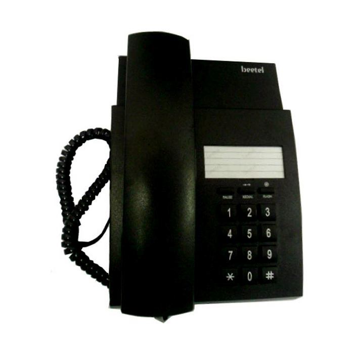 Beetel B80 Corded Landline Phone  (black)