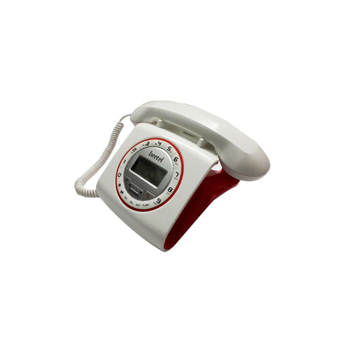 Beetel Telephone M73 White & Red