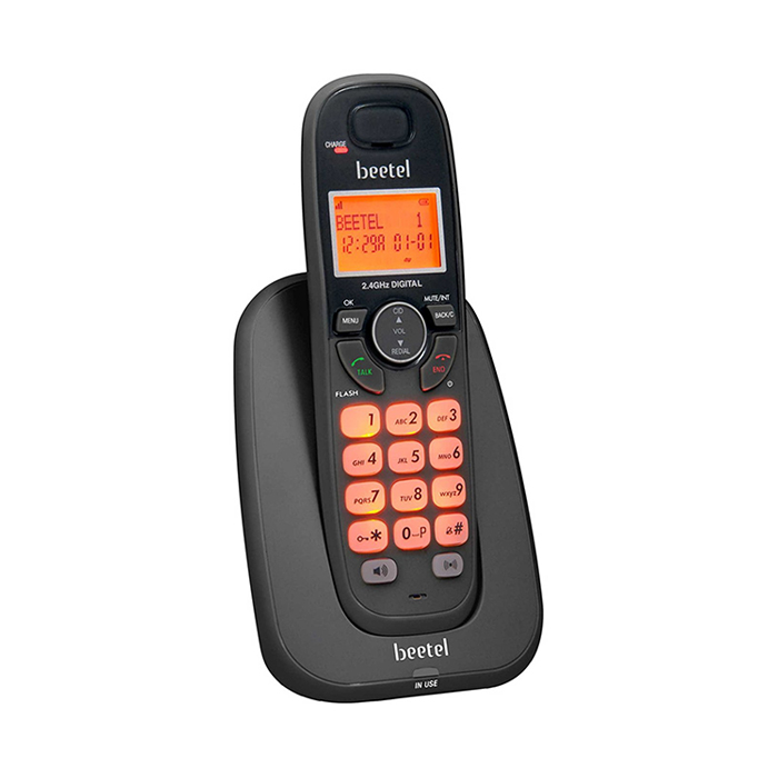 Beetel X-70 Cordless Phone (black)