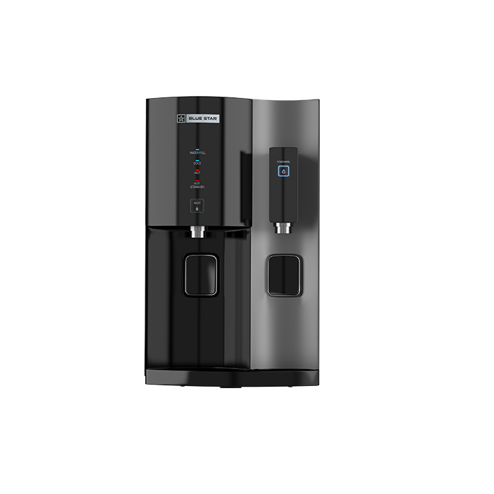 Blue Star Water Purifier Hot & Cold Stella Ro+uv- Black