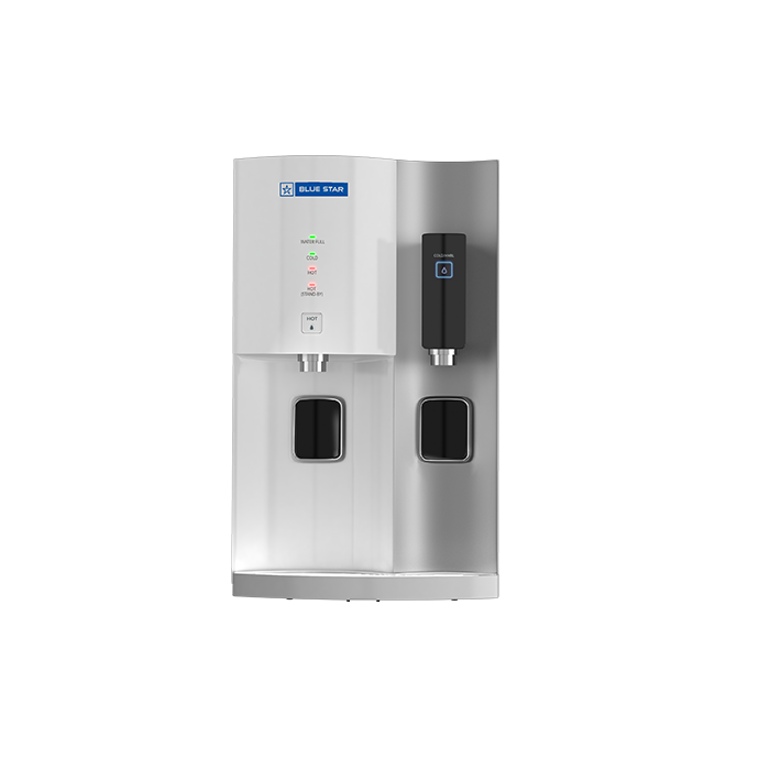Blue Star Water Purifier Hot & Cold Stella Ro+uv- White