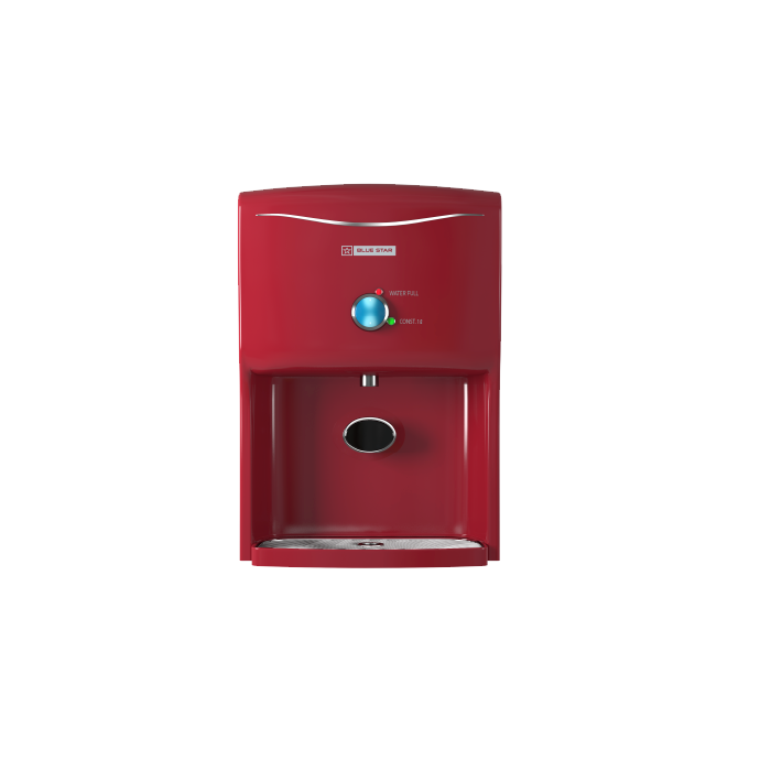 Blue Star Water Purifier Prisma Ro+uv- Red/meroon