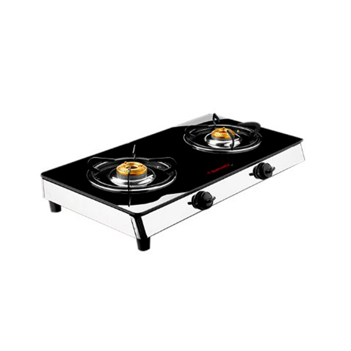 Butterfly 2 Burner-Jet Glass Cooktop