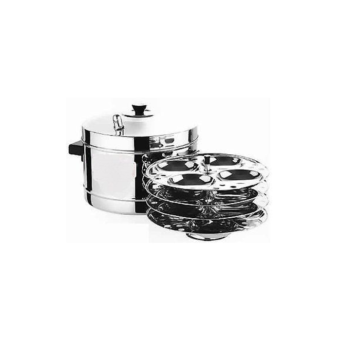Butterfly Steel Ware Idly Cooker-4 Plate