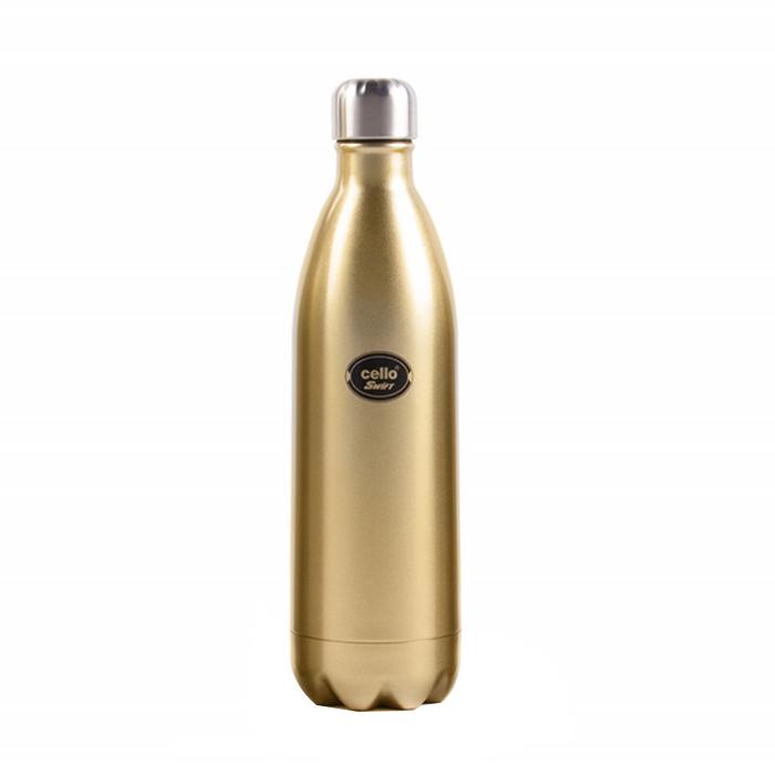 Cello Bottle Swift Stainless Steel Golden 500ML