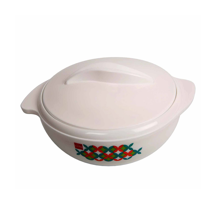 Cello Casserole Sizzler White 2800ML