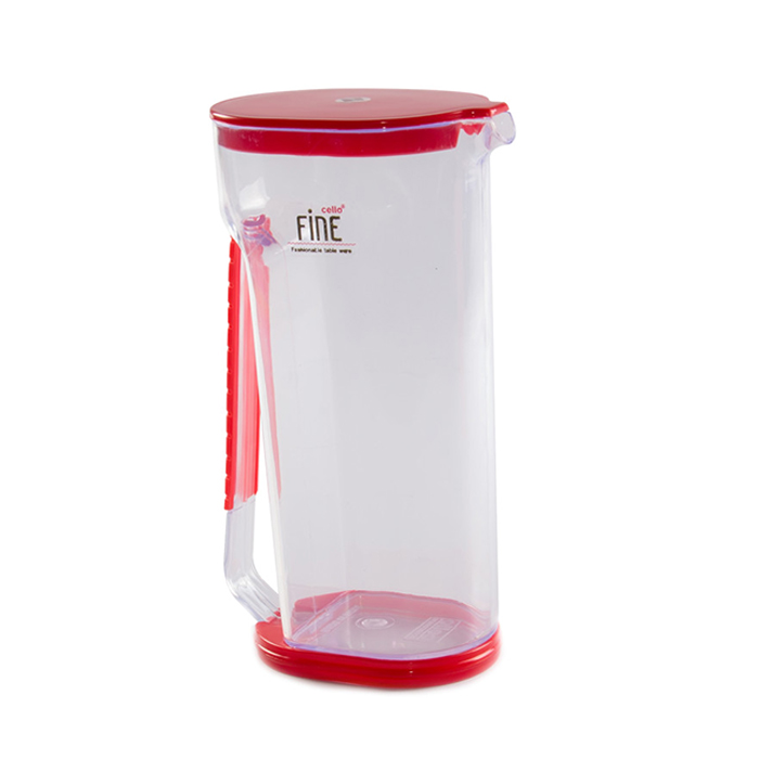 Cello Jug Fine Red