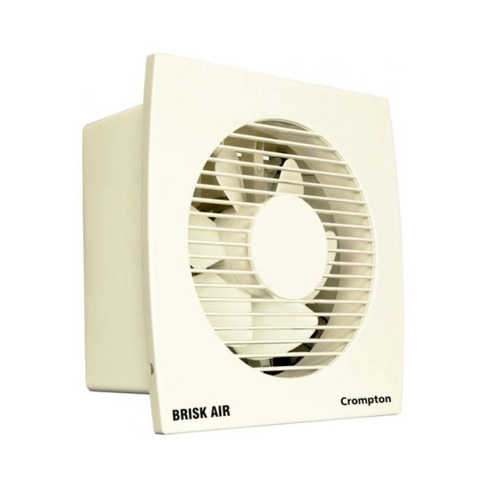 Crompton Exhaust Fan Brisk Air Hs 150mm-Ivory