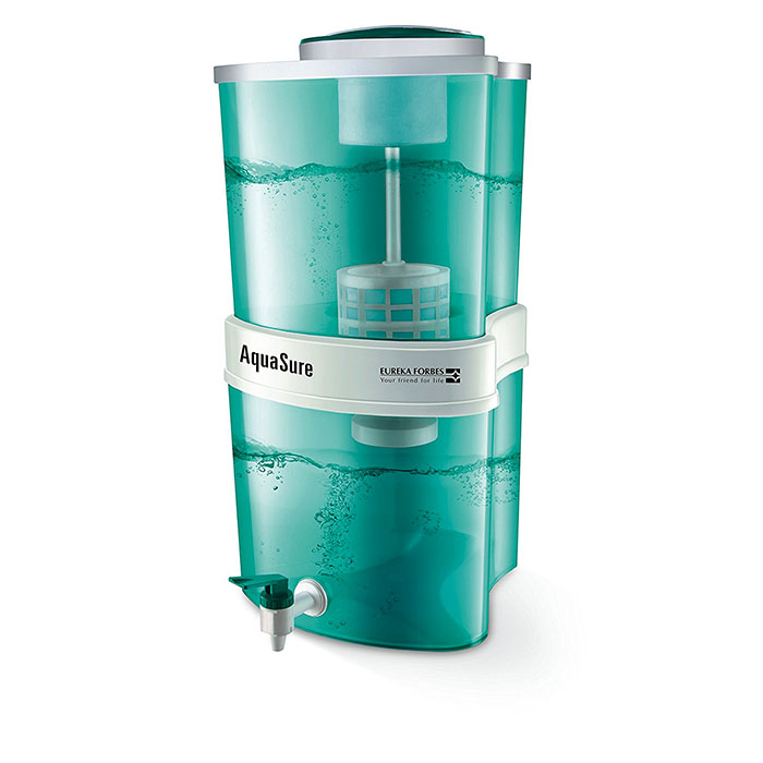 Eureka Forbes Water Purifier Aquasure Storage Ayush