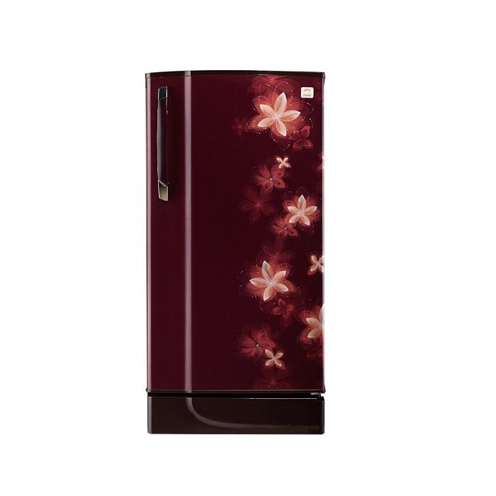 Godrej Refrigerator Single Door Rd Edge 200 Taf 3.2-185L-Galaxy Wine