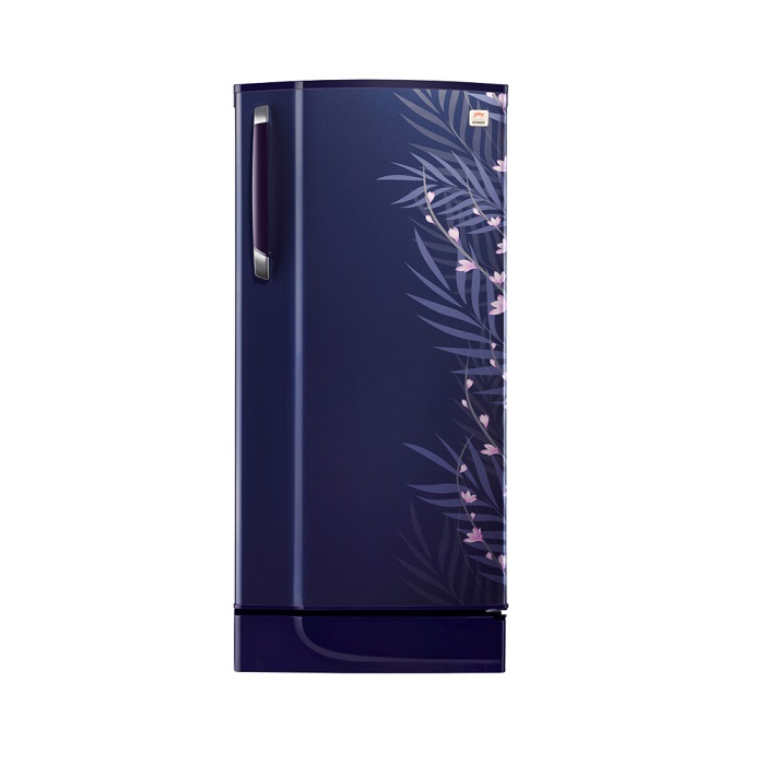Godrej Refrigerator Single Door Rd Edge 210 Taf 3.2-195L-Fern Blue