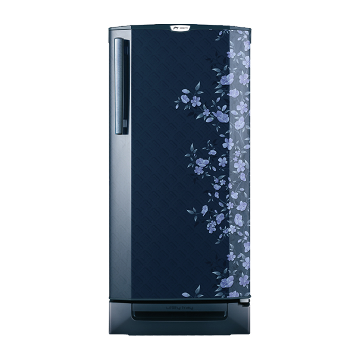 Godrej Refrigerator Single Door Rd Edgepro 190 Ct 3.2-Indigo Floret