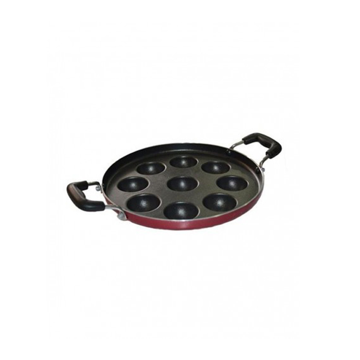 Greenchef Non-stick PANIYARAKKAL-9 Pits-3mm Thick