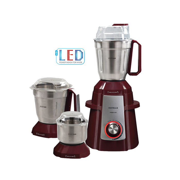 Havells Mixer Grinder Premio Red