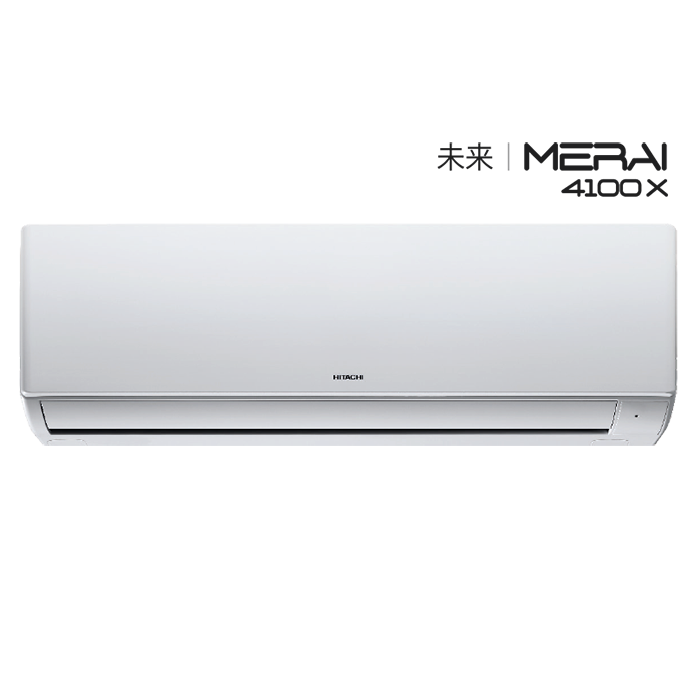 Hitachi A/c Split Merai 4100X RSG412HBEA -1.0 Ton ,4 Star