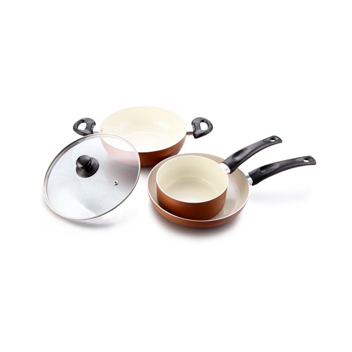 Impex Ceramic Kitchen Set Pearl KSF 484