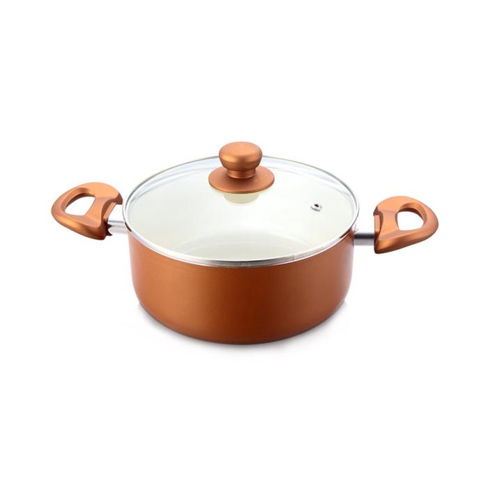 Impex Ceramic Sauce Pan Pearl 2075-20cm