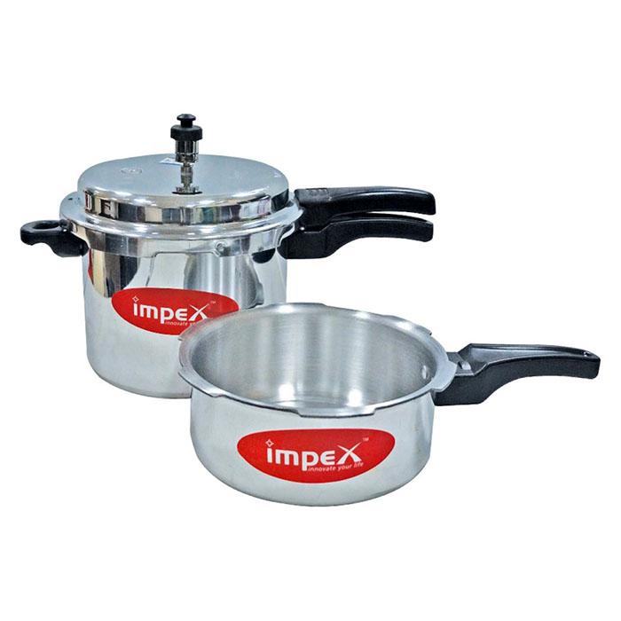 Impex Pressure Cooker 5 + 3L 5c3
