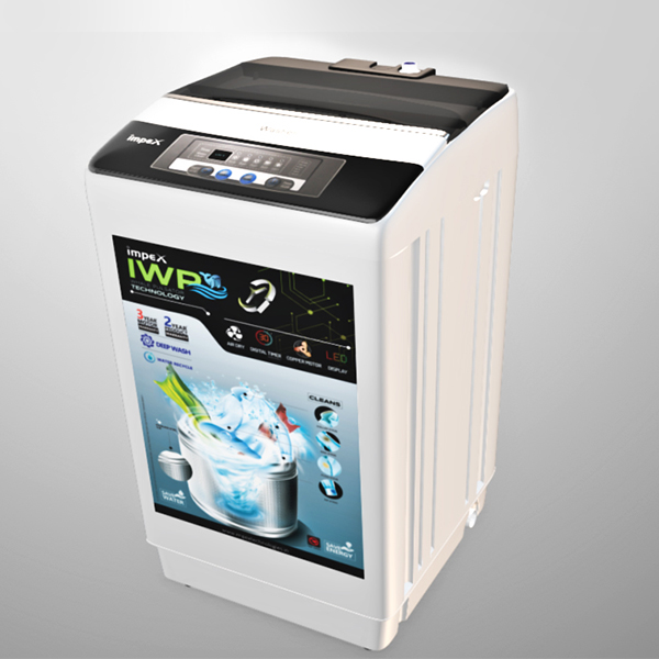 Impex Washing Machine Fully Automatic IWM62FATL 6.2kg