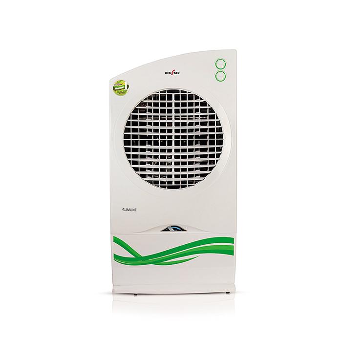 Kenstar Air Cooler Slimeline Without Remote KCESLF1W-EBA 30L