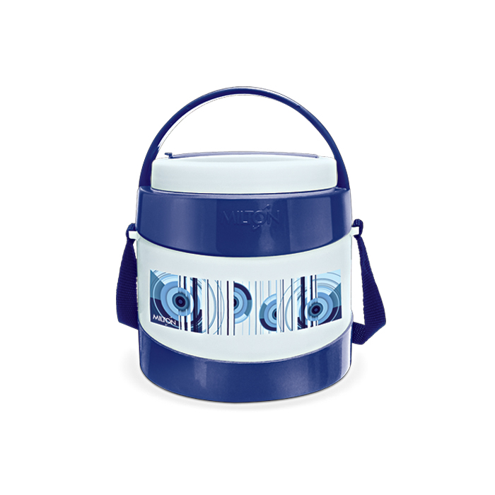 Milton Lunch Box Relish 2 Dark Blue 2 Container