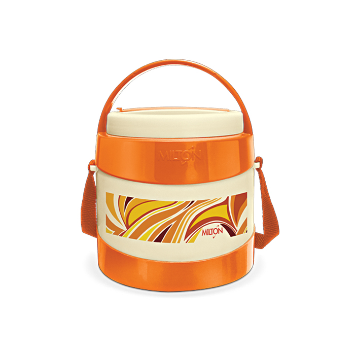 Milton Lunch Box Relish 2 Orange 2 Container