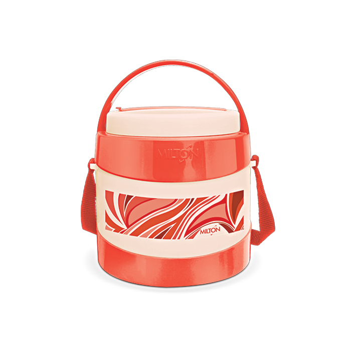 Milton Lunch Box Relish 2 Red 2 Container