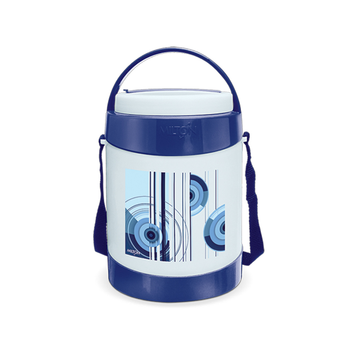 Milton Lunch Box Relish 4 Dark Blue 4 Container