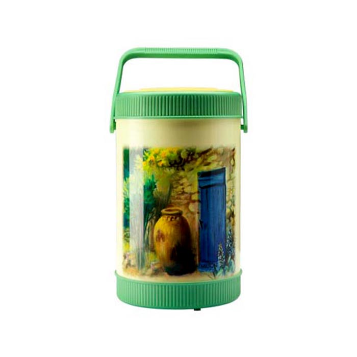 Milton Lunch Box Sheriff Green 4 Container