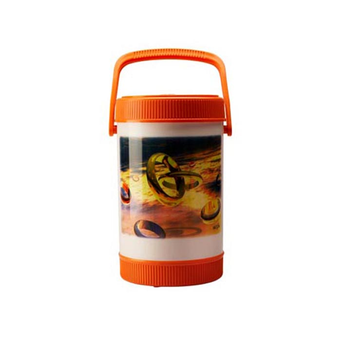 Milton Lunch Box Sheriff Orange 4 Container