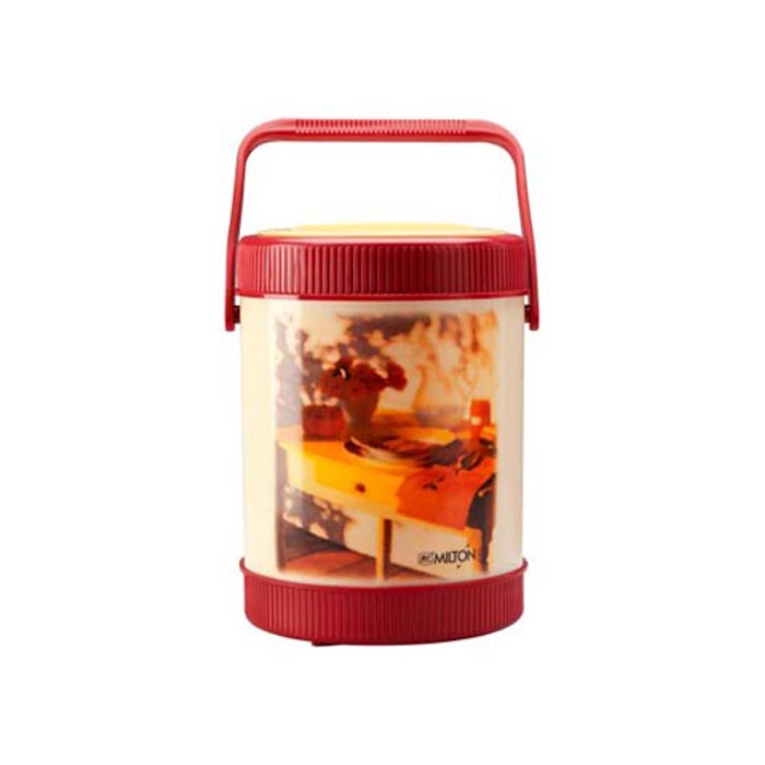 Milton Lunch Box Sheriff Red 4 Container