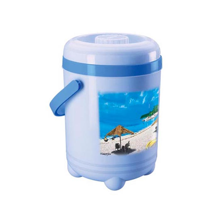 Milton Lunch Box Trojan Light Blue 4 Container