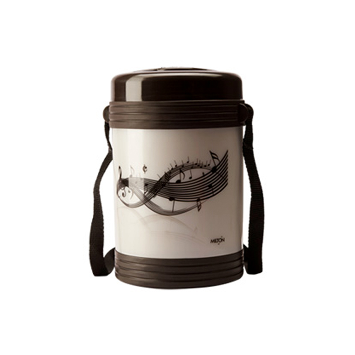 Milton Lunch Box Vector 4 Dark Brown 4 Container