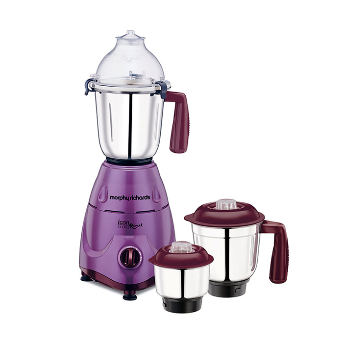 Morphy Richards Mixer Grinder Icon Royal-orchid 600W