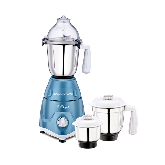 Morphy Richards Mixer Grinder Icon Royal-sapphire 600W
