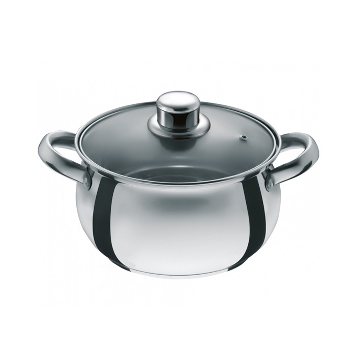 Nolta Stainless Steel Cooking Pot 18cm