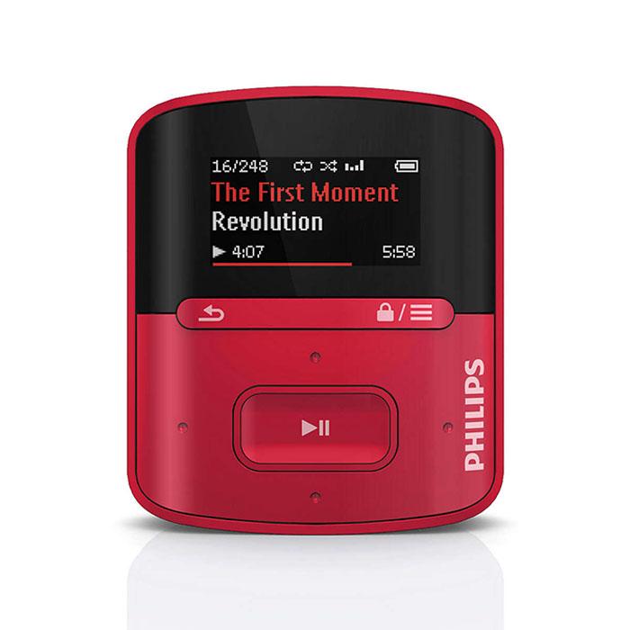 Philips Gogear MP3 Player 4GB SA4RGA04RF/BF/97