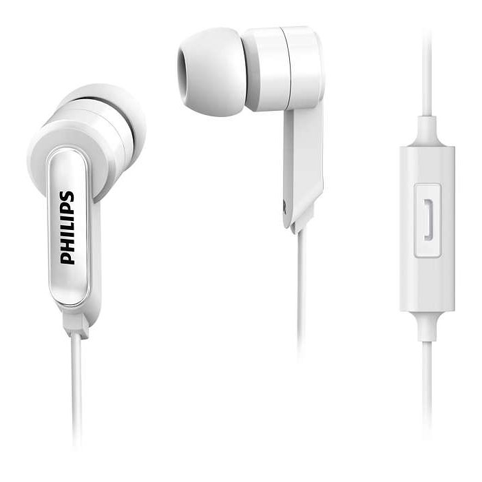 Philips Headphones With Mic SHE1405WT/94