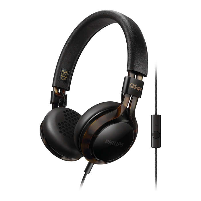 Philips Headphones With Mic SHL5705BKP/00