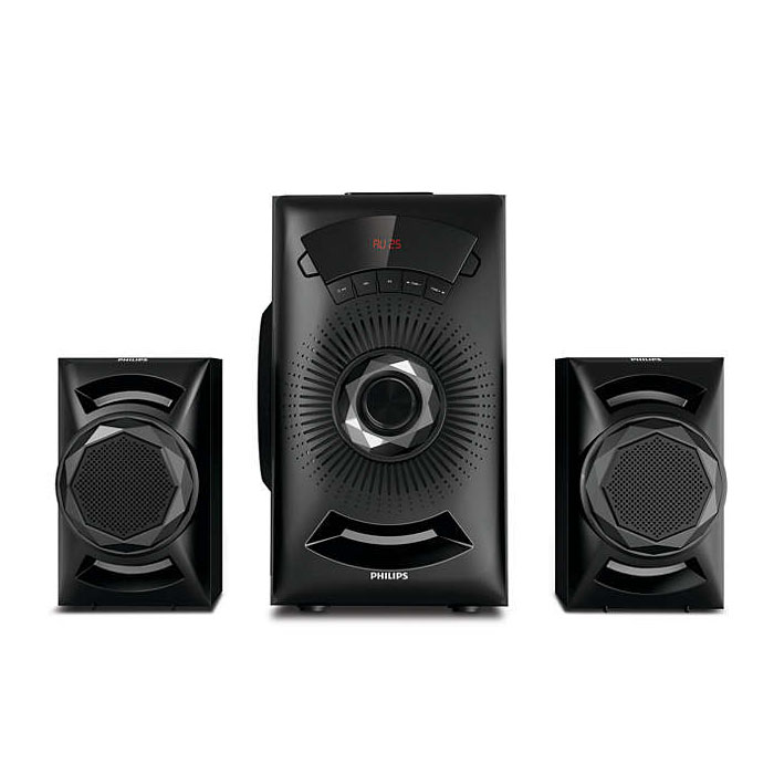 Philips Multi Media Speaker MMS2143B/94- 2.1