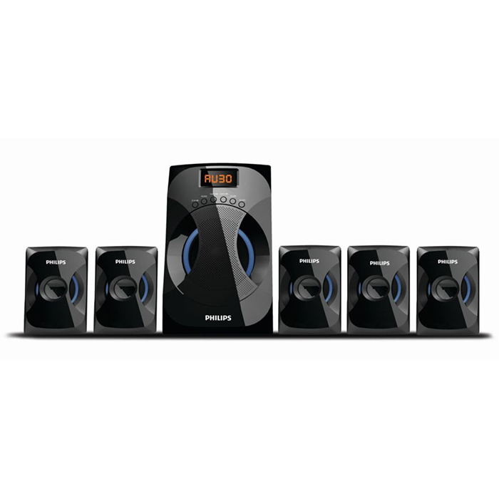 Philips Multi Media Speaker SPA4040B-5.1
