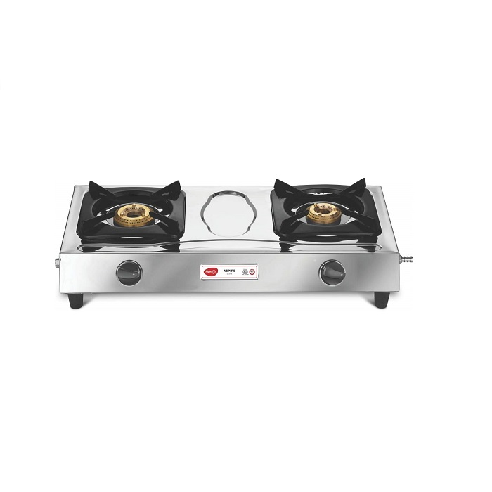 Pigeon Gas Cooktop Aspire 2 Burner