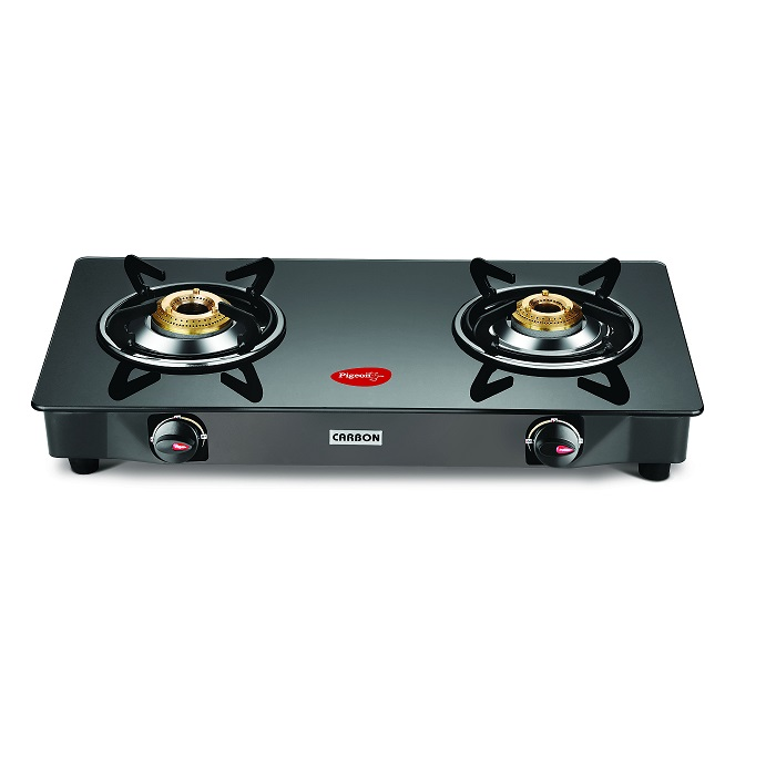 Pigeon Gas Cooktop Gt Carbon 2 Burner