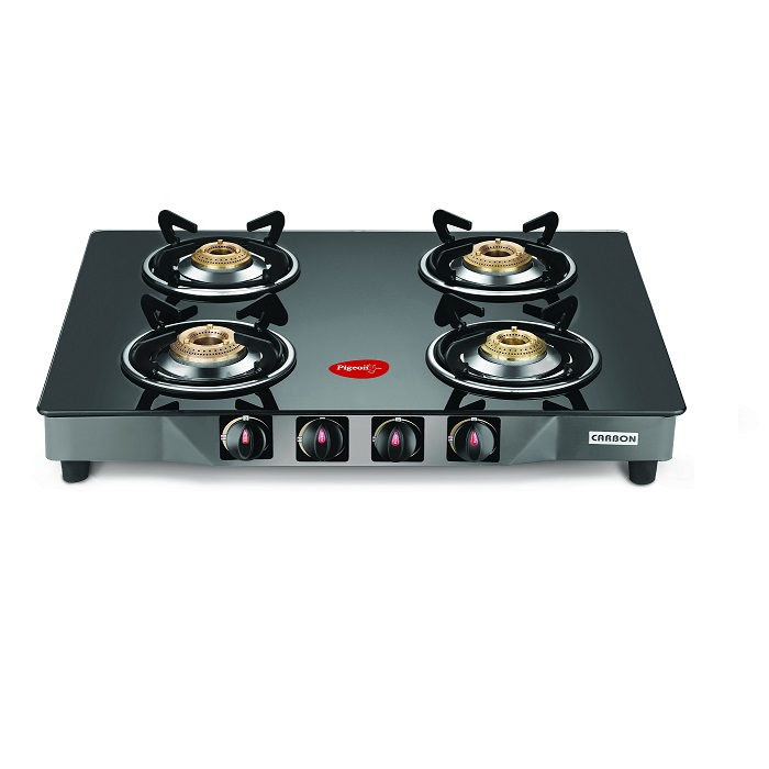 Pigeon Gas Cooktop Gt Carbon 4 Burner