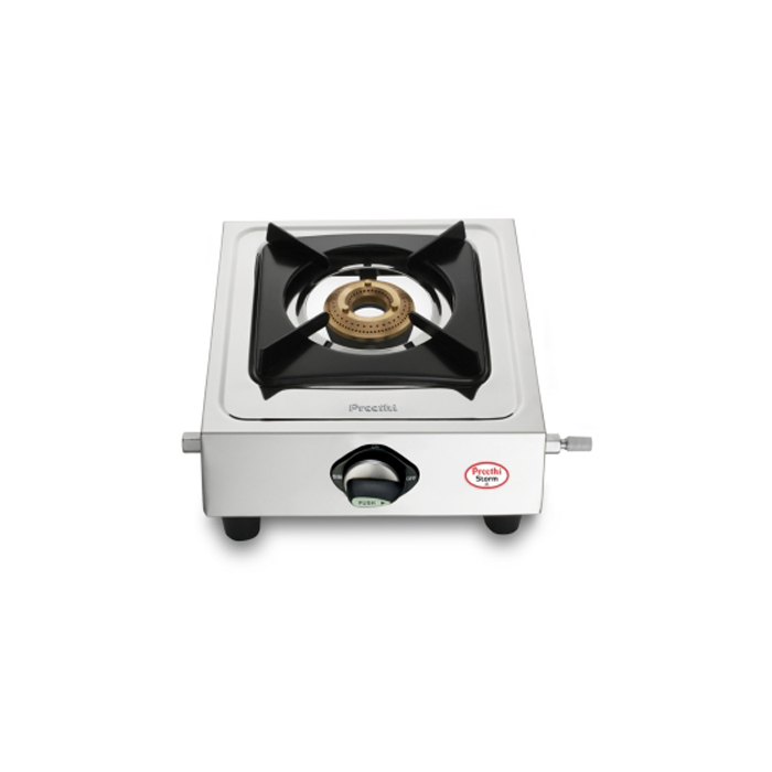 Preethi Cooktop Storm Single Burner Ss