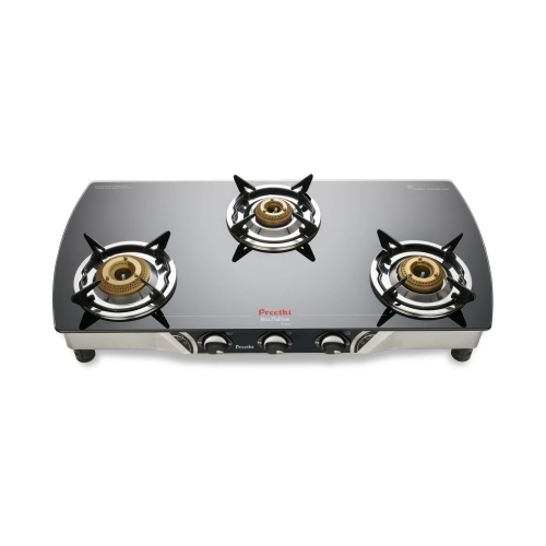 Preethi Glass Top Gas Stove Blaze Smart Ignition-3B
