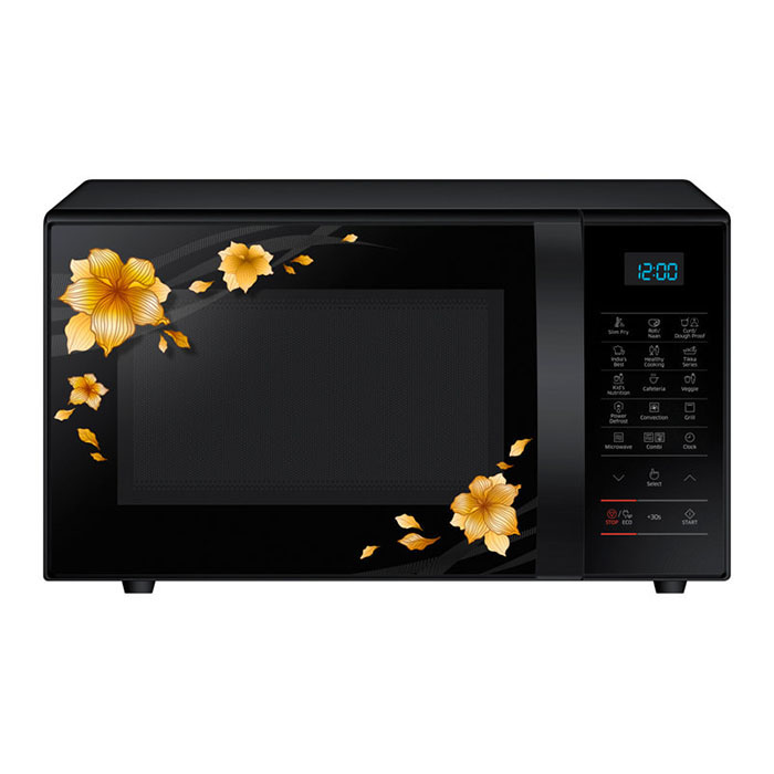 Samsung Microwave Oven CE77JD-QB Convection Mwo With Slim Fry, 21 L