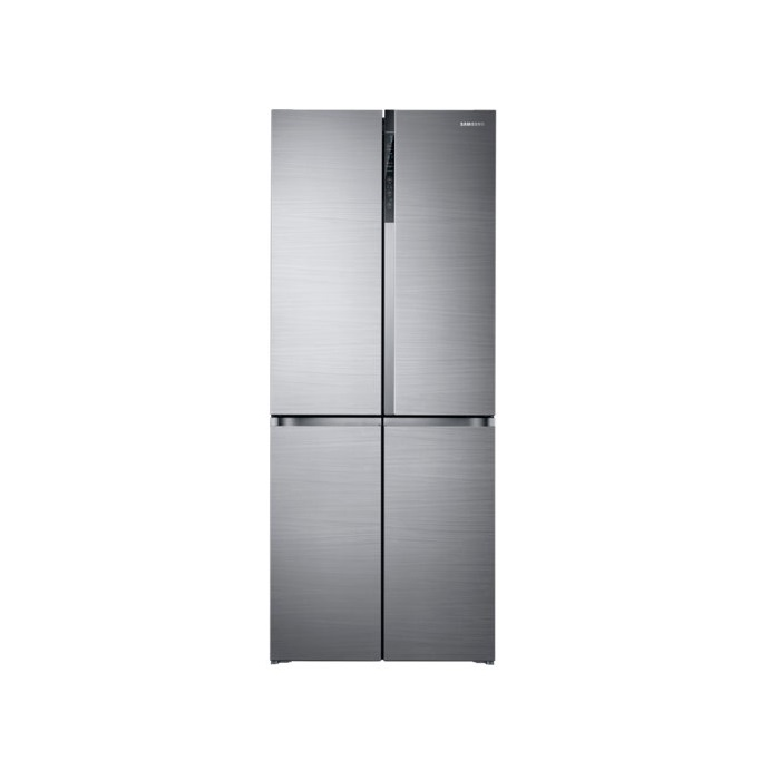Samsung Refrigerator Side By Side RF50K5910SL/TL French Door With Triple Cooling, 594L